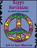 Hippy Scribbles: An Adult Coloring Book