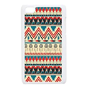 Ipod Touch 4 Tribal patterns Phone Back Case Personalized Art Print Design Hard Shell Protection FG094654