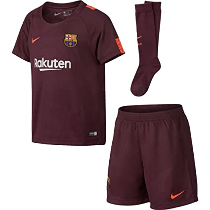 b1016770a Amazon.com   NIKE Youth Breathe FC Barcelona Kit  Night Maroon ...