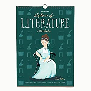 Idlewild Wall Calendar 2017 - Ladies of Literature - 12 Month Calendar