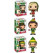 Funko Movies: Pop Collectors Set: Jovie, Buddy, Papa Elf Action Figure