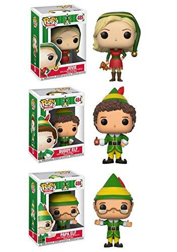 Funko Movies: POP! Elf Collectors Set: Jovie, Buddy, Papa Elf Action Figure