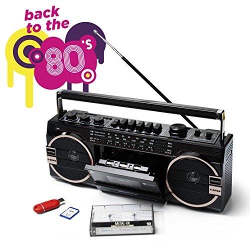 Ricatech PR1980 Ghettoblaster schwarz