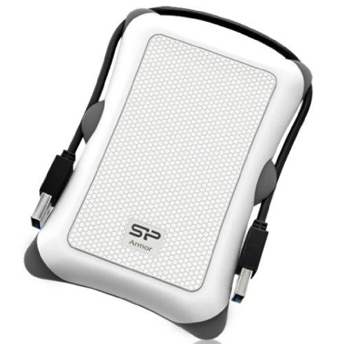 Title Silicon Power 2TB Rugged Armor A30 Military Shockproof Standard 2.5-Inch USB 3.0 External Portable Hard Drive – White (SP020TBPHDA30S3W), Best Gadgets