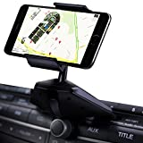 IPOW Easy Installation CD Slot Smartphone Car Mount Holder Cradle for iPhone Samsung Galaxy LG Nexus