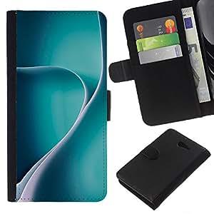 WINCASE Cuadro Funda Voltear Cuero Ranura Tarjetas TPU Carcasas Protectora Cover Case Para Sony Xperia M2 - negro flores marrones wallpaper