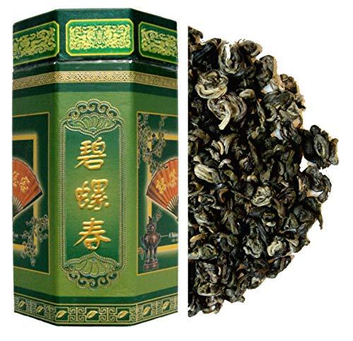 250 g de te verde - Hoja entera suelta - Cosecha de primavera Bi Lou Chun
