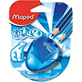 Maped Helix USA I-Gloo 2 Hole Sharpener, Color May Vary, Assorted Colors (634756TA)