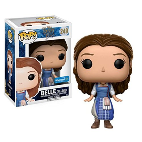 FunKo POP Disney: Beauty and the Beast Live Action Film Exclusive Village Belle Figure (Beauty And The Beast Live Action Pop)