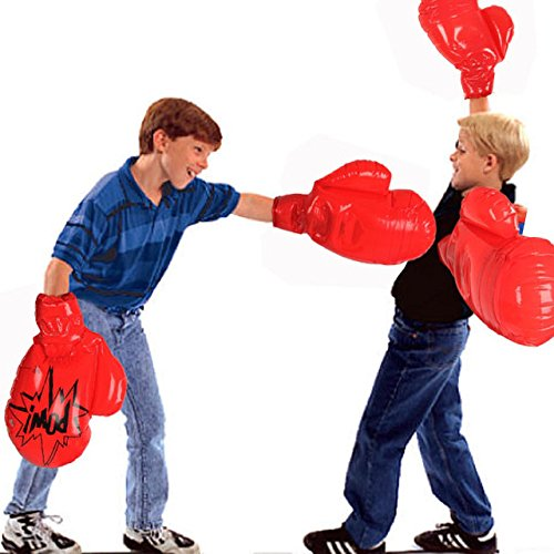 Expansive Pugilism - Child Inflatable Boxing Glove Toy Kid Adult Exercise Mega Mitten Decoration - Fisticuff - 1PCs