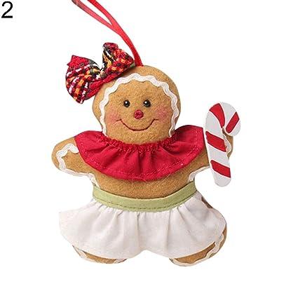 Gingerbread Christmas Tree.Amazon Com Aland Gingerbread Christmas Man Tree Hanging