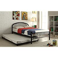 ACME Furniture 30460T-BK Cailyn Bed, Twin, Black