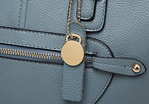 Borse FBUIBD181679 Azzurro a Borse tracolla a AllhqFashion Donna tracolla Moda Nero Luccichio Nodo BqRRIUwS