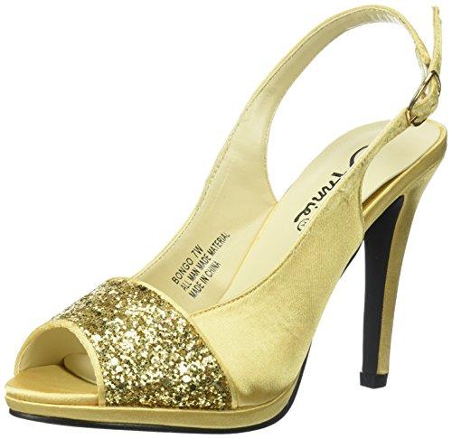 Annie Shoes Womens Bongo W Dress Sandal Gold lOFJuVRG
