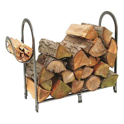 Enclume Arch Log Rack, Hammered Steel by Enclume Hearth