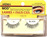 ANDREA Strip Lashes, Black, Style 43