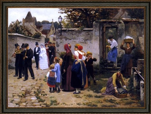 Art Oyster Guillaume Seignac The Wedding Procession - 18.05