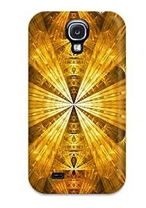 New Design Shatterproof GCOZHVK9031Fkirr Case For Galaxy S4 (gold)