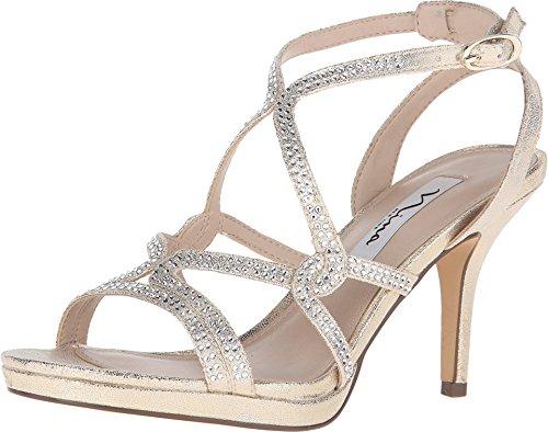 inc gold heels - 3