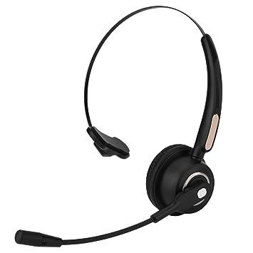 Eboxer Auriculares Bluetooth del Centro de Llamadas Auriculares Inalámbricos Bluetooth 12 Horas Cancelación de Ruido Auriculares Universales: Amazon.es: ...