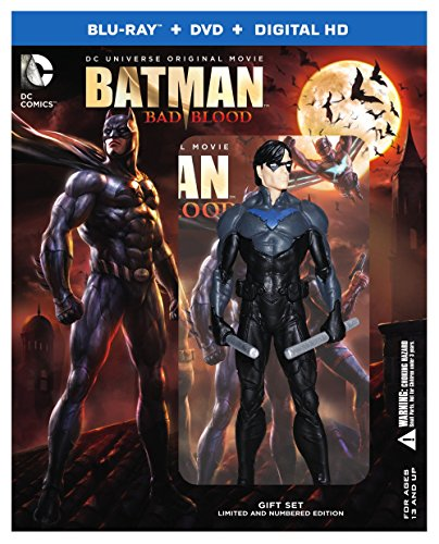 Blu-ray : Batman: Bad Blood (Deluxe Edition, Ultraviolet Digital Copy, , 2 Pack, 2 Disc)