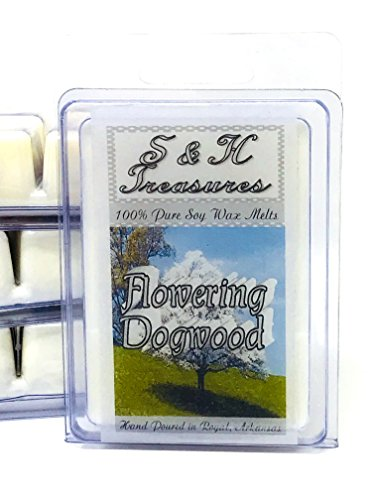 - Flowering Dogwood - Pure Soy Wax Melts - Floral Scents - 1 pack (6 cubes)
