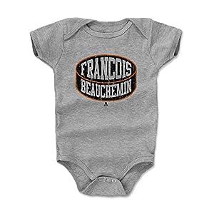 500 LEVEL's Francois Beauchemin Baby Onesie - Anaheim Hockey Fan Gear - Francois Beauchemin Anaheim Puck