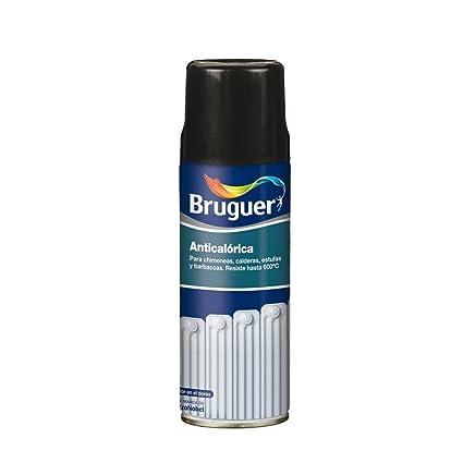 Bruguer 5197994 - Pintura anticalórica/calorífica en spray Bruguer color NEGRO 400 ml