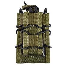 EMERSONGEAR Double Decker Mag Pouch Multicamo Airsoft ak47 M4 M16 Molle Tactical Pouch Clip For Vest Belt EM6346