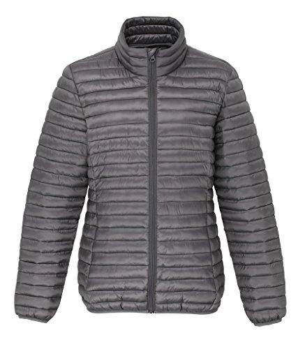 MAKZ Damen Mantel Grau   Steel 1jxsdGC