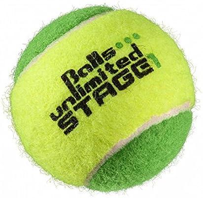 Balls Unlimited Pelotas De Tenis Stage 1 Grün - Beutel Bolsa De 60 ...