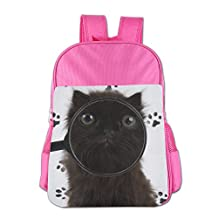 Nishilongteng Unique Cat Muzzle Magnifier Fluffy Girls And Boys Kid's Backpacks