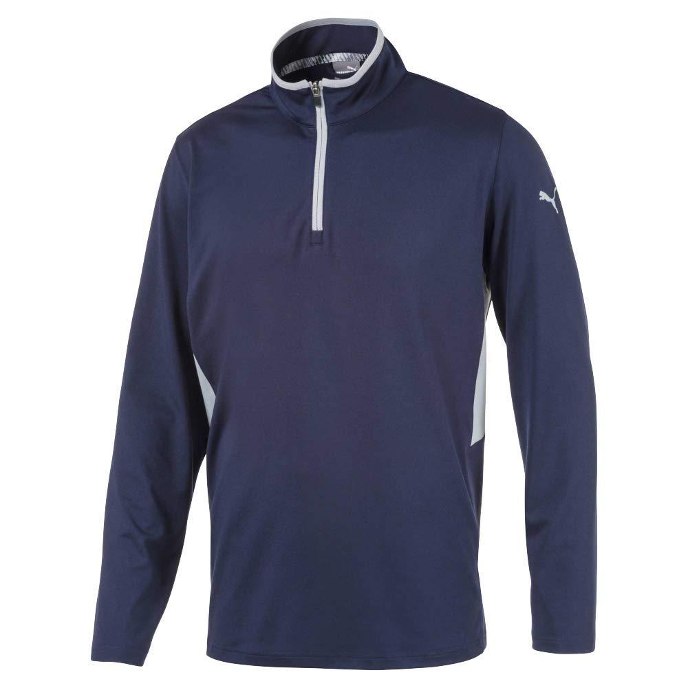 Puma Golf Men's 2019 Rotation 1/4 Zip, Peacoat, 3X-Large
