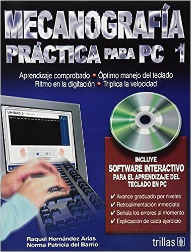 Mecanografia para PC 1/ Typing Practice for PC 1 (Spanish Edition): Raquel Hernandez Arias: 9789682476808: Amazon.com: Books