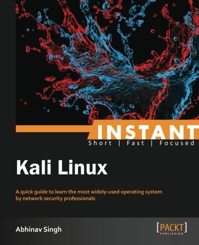 Instant Kali Linux