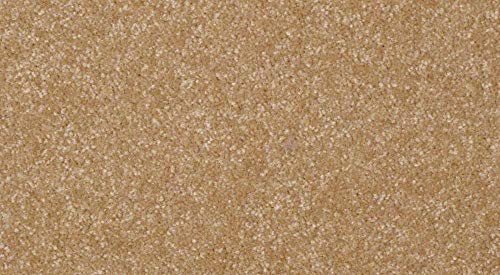 Koeckritz 2.5'x13' RUNNER Area Rug Carpet. LIGHT AMBER ALE GOLDEN BROWN 30 oz. ½ Thick. 100% Polyester fiber, Medium Density, Soft and Durable. MULTIPLE SIZES, SHAPES and Brilliant Colors.