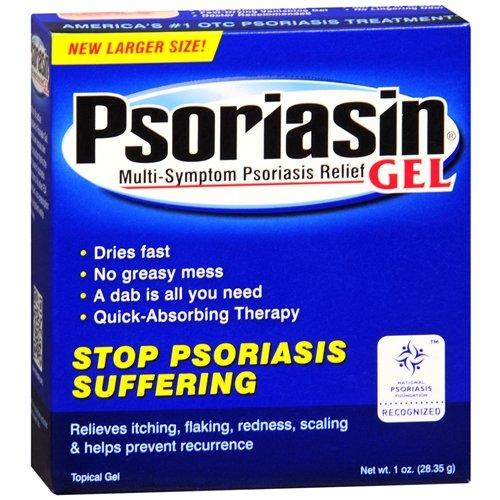 Psoriasin Multi-Symptôme psoriasis Relief Gel-1 oz (28,35 g)