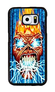 Samsung Galaxy S6 Edge Case, Personalized Iron Maiden Supreme Protection TPU Black Bumper Case Cover for Samsung Galaxy S6 Edge