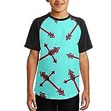 Christian-Cross-Hip-Hop Youth Boys Short Sleeve Tees Print Soft T-Shirts