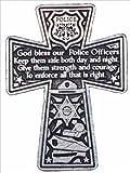 Cathedral Art KVC180 Auto Visor Clip, Policeman's Cross, 2-3/8-Inch