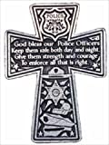 Cathedral Art KVC180 Auto Visor Clip, Policeman's Cross, 2-3/8-Inch