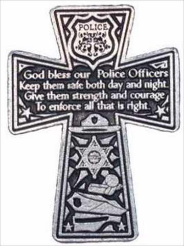 Cathedral Art KVC180 Auto Visor Clip, Policeman's Cross, 2-3/8-Inch Guardian Angel Birthday