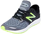 New Balance Fresh Foam Zante v2, Girls Running Shoes, Black (Black/Green), 3.5 (36 EU)