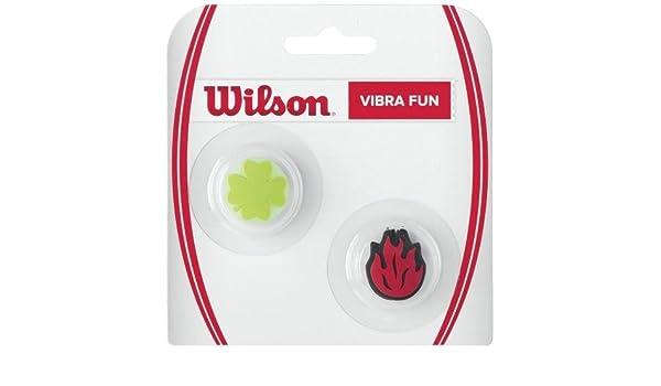 Wilson Fun Clover - Antivibrador de Tenis: Amazon.es: Deportes y aire libre