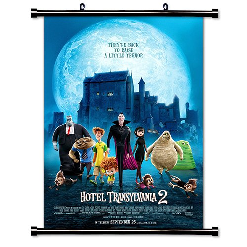 Hotel Transylvania 2 Movie Fabric Wall Scroll Poster  Inches