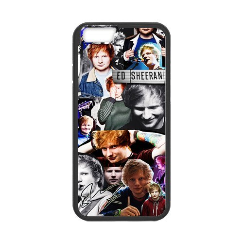 Fayruz- Personalized Protective Hard Textured Rubber Coated Cell Phone Case Cover Compatible with iPhone 6 & iPhone 6S - Ed Sheeran F-i5G800