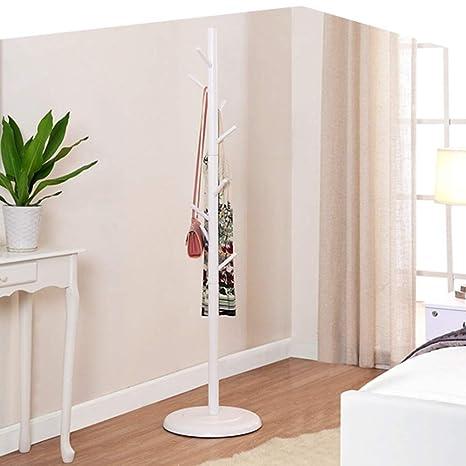 Perchero QFFL Soporte de pie con Forma de árbol de bambú ...