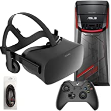 Oculus Rift 3 Items Bundle: Oculus Rift Virtual-Reality Headset & ASUS G11CD Desktop Package 8GB 1TB with Mytrix High Quality HDMI Cable(US Version, Imported)