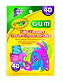 GUM Crayola Kids' Flossers 40 Each