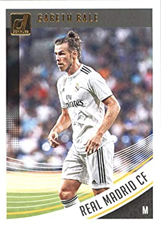 quality design 2ddaf b46c8 Amazon.com: 2018-19 Donruss #25 Gareth Bale Real Madrid CF ...